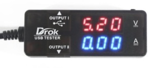 DROK USB 2.0 Digital Multimeter,