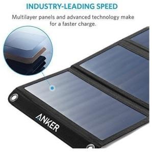 Portable Solar Harvesting Anker