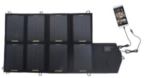 Portable Solar Harvesting Eco-Worthy 28w