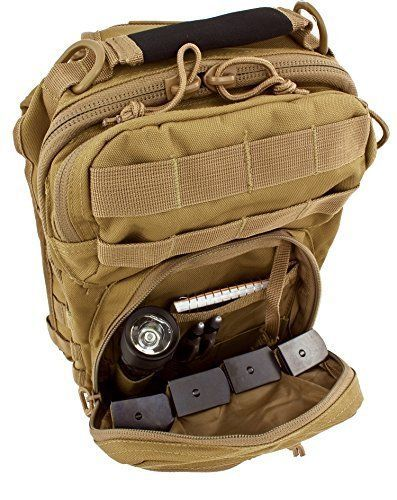 Plenty of room for spare mags and tactical light.