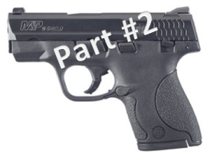 Smith & Wesson M&P Shield Review Part 2