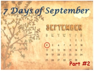 7 Days of September - threat of violence