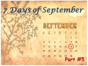 7 Days of September - Organization