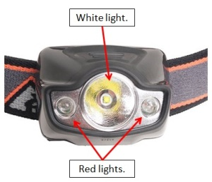 headlamp ozark trail walmart 150 lumen