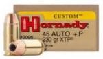Hornady XTP 230gr .45cal
