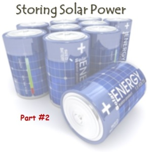 storing solar power