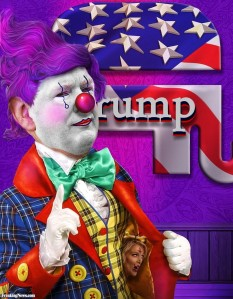 Donald-Trump - dictator in waiting and clown