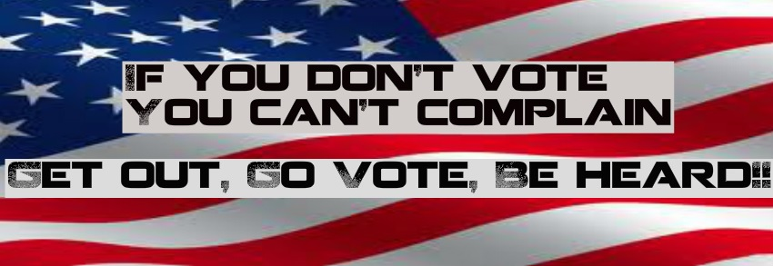 Let them hear your vote!