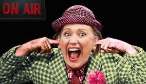 HIllary Clinton - clown and criminal