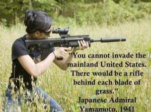 no country can invade the USA