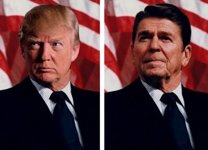 trump is no reagan