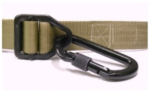 Wilderness Instructor Belt with carabineer