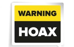 Hoax Alert
